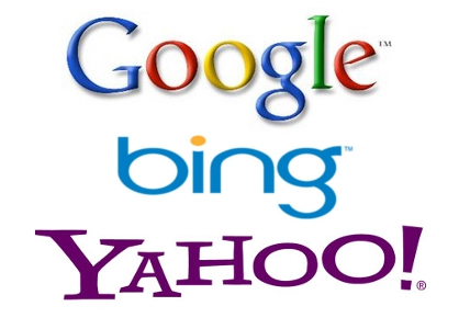 Google Bing and Yahoo